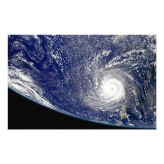 Hurricane Frances Photo Print