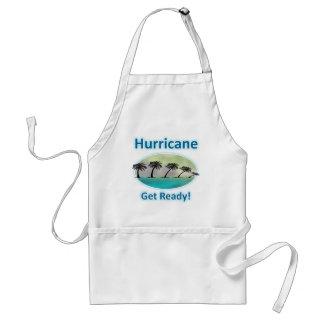 Hurricane. Get Ready! Adult Apron