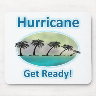 Hurricane. Get Ready! Mouse Pad