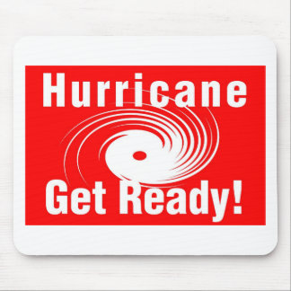 Hurricane! Get Ready! Mouse Pad