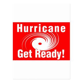 Hurricane! Get Ready! Postcard