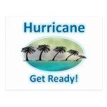 Hurricane. Get Ready! Postcards