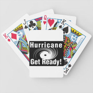 Hurricane! Get Ready! Products Bicycle Playing Cards
