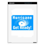 Hurricane. Get Ready! Skin For The iPad 2