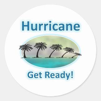 Hurricane. Get Ready! Sticker