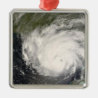 Hurricane Gustav Metal Ornament