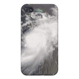 Hurricane Gustav over Hispaniola Cover For iPhone 4
