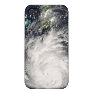 Hurricane Gustav over Jamaica 2 Case For iPhone 4