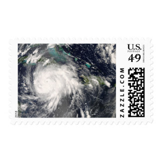 Hurricane Gustav over Jamaica 2 Stamp