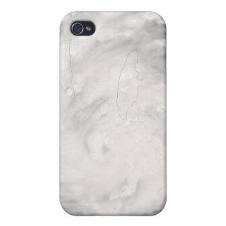 Hurricane Gustav over Jamaica iPhone 4/4S Case