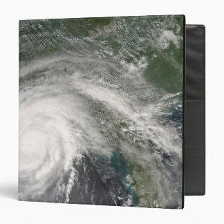 Hurricane Gustav over Louisiana 3 Ring Binder