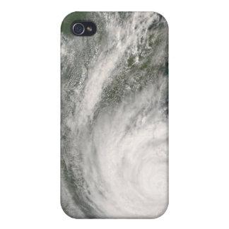 Hurricane Gustav over Louisiana iPhone 4 Case