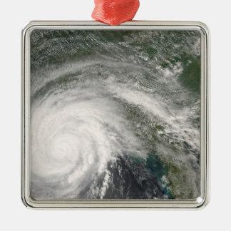 Hurricane Gustav over Louisiana Metal Ornament