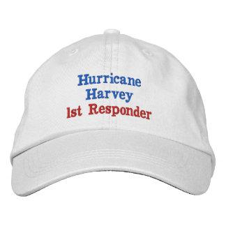 Hurricane Harvey 1st Responder Embroidered Baseball Cap