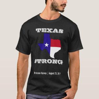 Hurricane Harvey Texas Strong Black T-Shirt