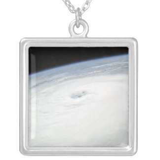Hurricane Helene Silver Plated Necklace