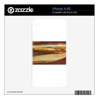 Hurricane Hermine Sunset iPhone 4 Skins