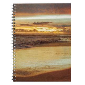 Hurricane Hermine Sunset Notebook