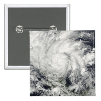 Hurricane Ida over Nicaragua Pinback Button