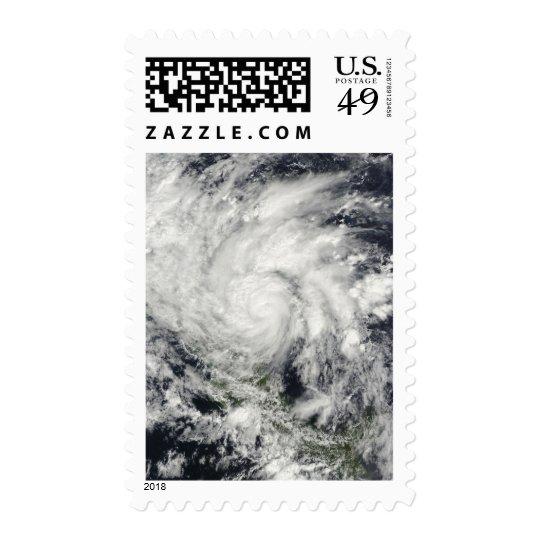 Hurricane Ida over Nicaragua Postage