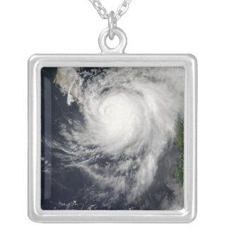 Hurricane Ignacio Silver Plated Necklace