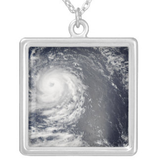 Hurricane Igor 2 Silver Plated Necklace