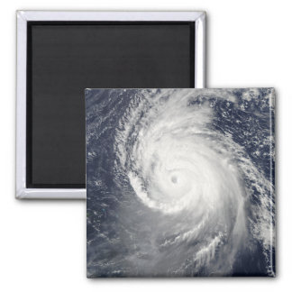 Hurricane Igor in the Atlantic Ocean 2 Inch Square Magnet
