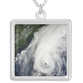 Hurricane Igor Silver Plated Necklace