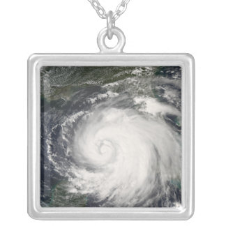 Hurricane Ike 4 Silver Plated Necklace