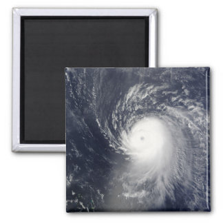 Hurricane Ike off the Lesser Antilles 2 Inch Square Magnet