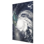 Hurricane Ike over Cuba, Hispaniola Canvas Print