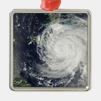 Hurricane Ike over Cuba, Jamaica, and the Baham Metal Ornament