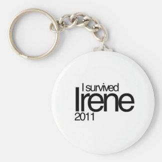 Hurricane Irene 2011 Keychain