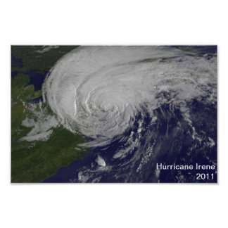 Hurricane Irene 2011 Poster