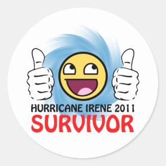 Hurricane Irene 2011 Survivor Stickers