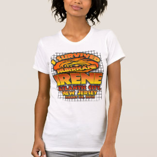 Hurricane Irene, Atlantic City T Shirts