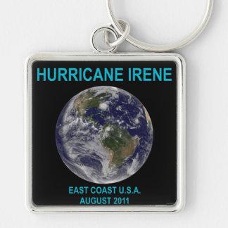 Hurricane Irene, August 2011, East Coast USA Keychain