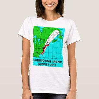 Hurricane Irene, August 2011 Track T-Shirt
