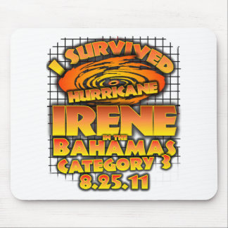 Hurricane Irene - Bahamas Mouse Pad