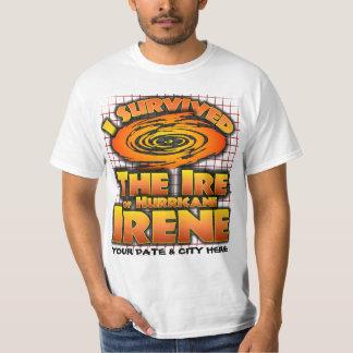 Hurricane Irene, Customizable T-Shirt