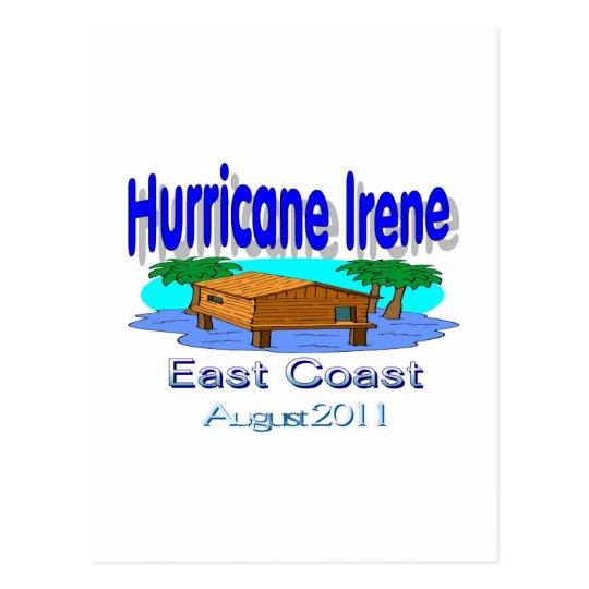 Hurricane Irene East Coast Collection Postcard
