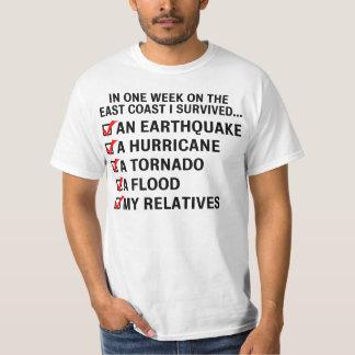 Hurricane Irene / East Coast Survival Value Shirt