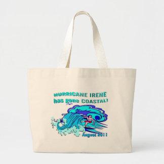 Hurricane Irene Jumbo Tote Bag