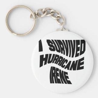 Hurricane Irene Keychain