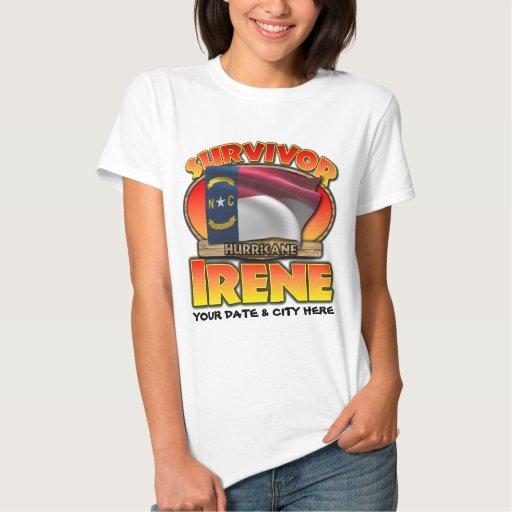 Hurricane Irene, NC, Customizable T-shirt