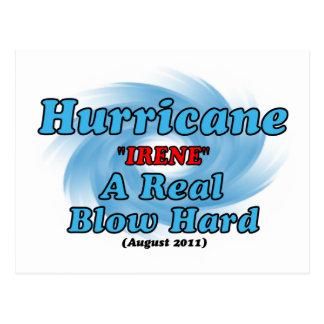 "Hurricane ""IRENE"" Postcard"