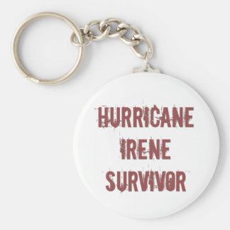 Hurricane Irene Surivor Keychain