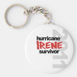 Hurricane Irene Survivor 2011 Keychain