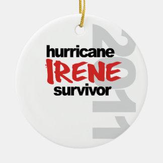 Hurricane Irene Survivor 2011 Ornament