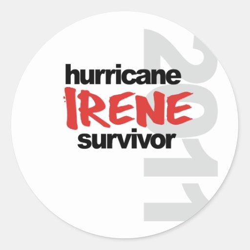 Hurricane Irene Survivor 2011 Sticker